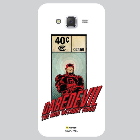 Daredevil Illustration White Samsung Galaxy J7 Case Cover