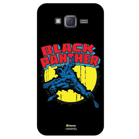 Black Panther Action Black  Samsung Galaxy J7 Case Cover