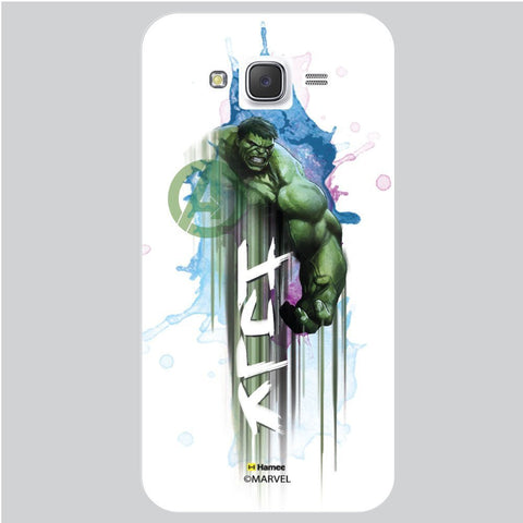 Hulk Muscles 3D White Samsung Galaxy On7 Case Cover