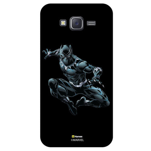 Black Panther Style Black  Samsung Galaxy J7 Case Cover