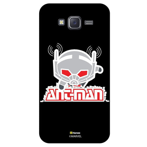 Marvel'S Ant Man Black Colourblack  Samsung Galaxy J7 Case Cover