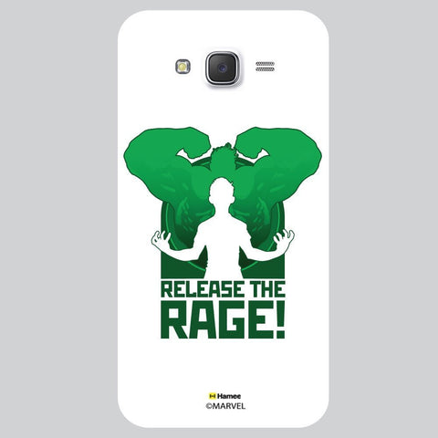 Hulk Release The Rage White Samsung Galaxy On7 Case Cover