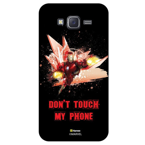 Iron Man Dont Touch My Phone Black  Samsung Galaxy On5 Case Cover