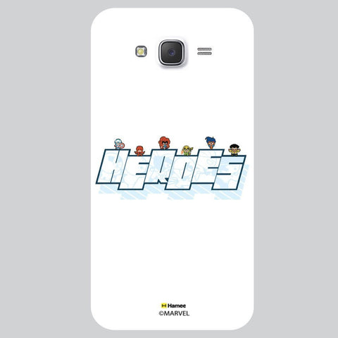 Cute Superheroes White Samsung Galaxy On5 Case Cover