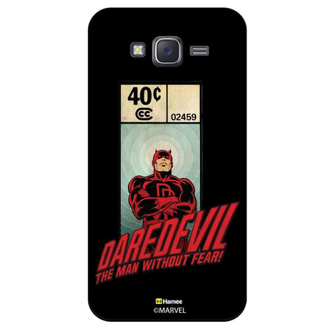Daredevil Illustration Black  Samsung Galaxy J7 Case Cover