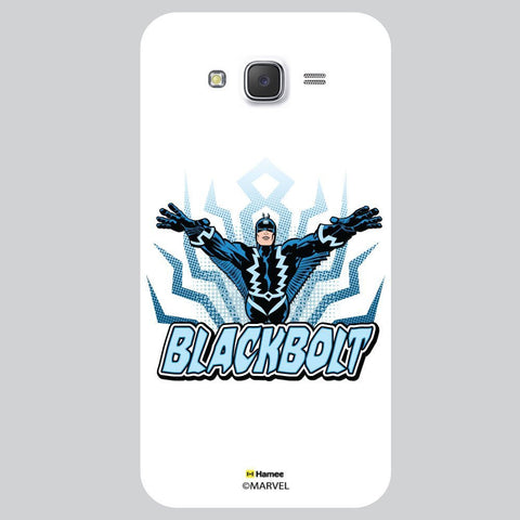 Blackbolt Illustration White Samsung Galaxy On7 Case Cover