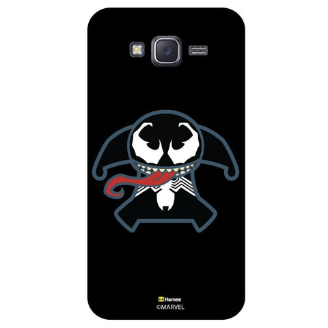 Cute Tung Twisted Illustration Black  Samsung Galaxy J7 Case Cover