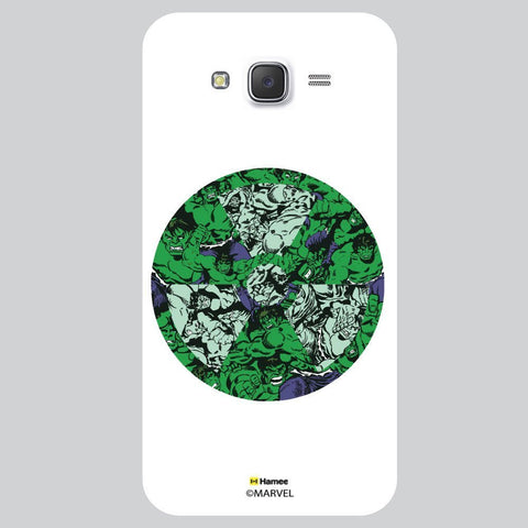 Thor Wheel Collage Illustration White Samsung Galaxy J7 Case Cover