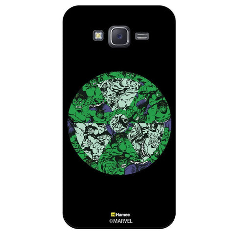 Thor Wheel Collage Illustration Black  Samsung Galaxy J7 Case Cover