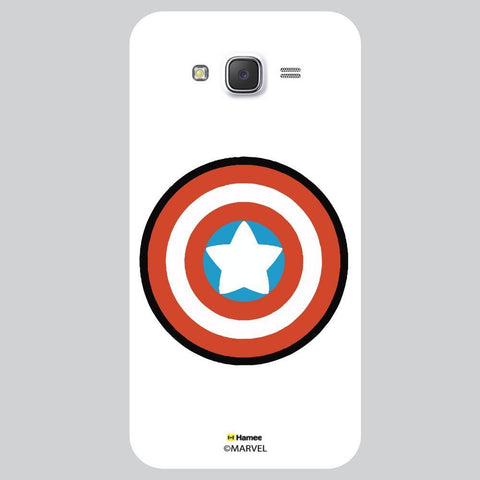 Captain America Shield Flat Design White Xiaomi Redmi 2 Case Cover