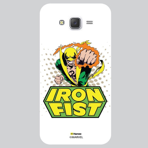 Iron Man First Colour White Samsung Galaxy On7 Case Cover