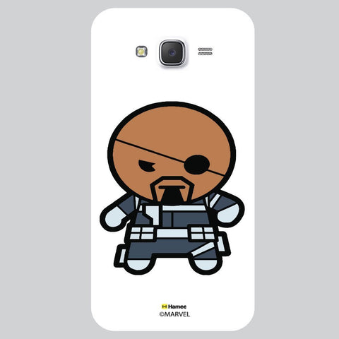 Cute Iron Man Illustration White Samsung Galaxy J7 Case Cover