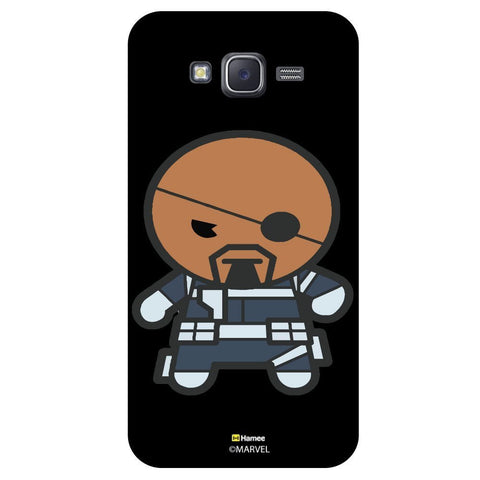 Cute Iron Man Illustration Black  Samsung Galaxy J7 Case Cover
