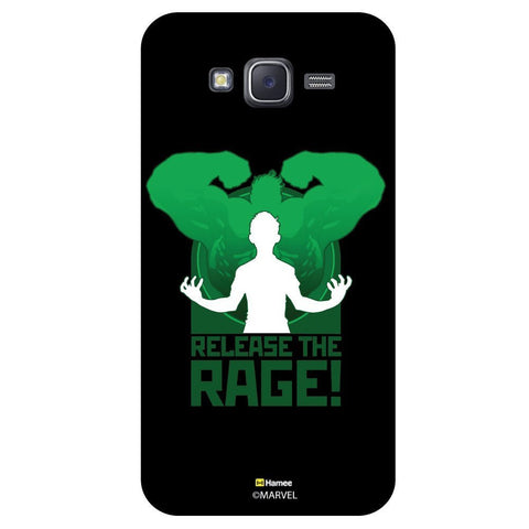 Hulk Release The Rage Black  Samsung Galaxy J7 Case Cover