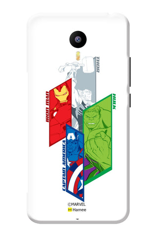 Avengers Group 2  Meizu Note 3 Case Cover