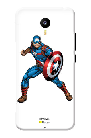 Captain America With Shield  Meizu Note 3 Case Cover