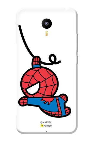 Cute Spiderman Swinging  Lenovo K4 Note / Lenovo Vibe K4 Note Case Cover