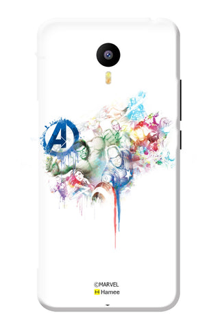 Avengers Group 3  Meizu Note 3 Case Cover