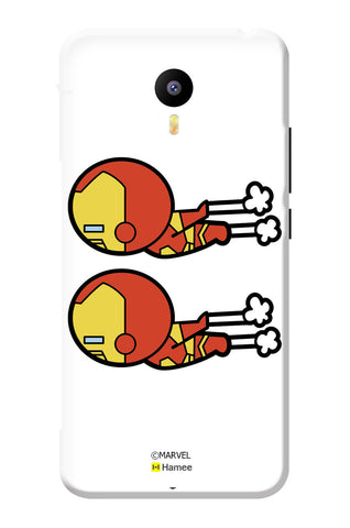 Cute Iron Man Group  Meizu Note 3 Case Cover