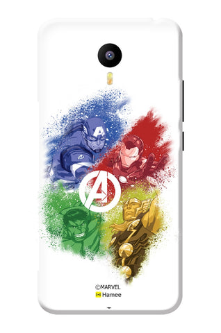 Avengers Superheroes 4  Meizu Note 3 Case Cover