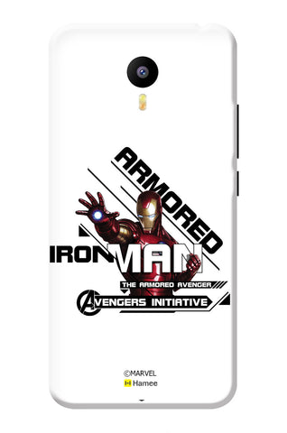 Iron Man Armored  Meizu Note 3 Case Cover