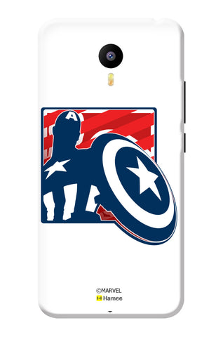 Captain America With Sheild  Meizu Note 3 Case Cover