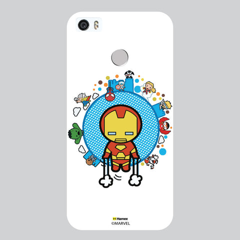 Cute Iron Man 1 White Coolpad Max Case Cover