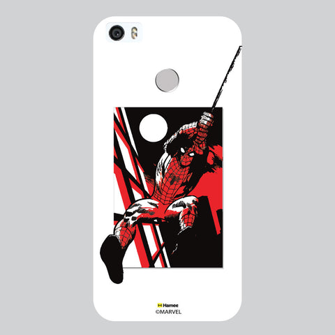 Spider Man 3D White Coolpad Max Case Cover