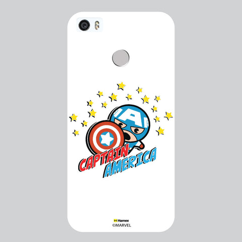 Cute Captain America White Coolpad Max Case Cover
