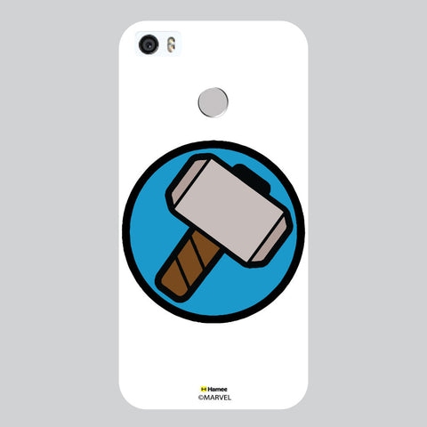 Thor Hammer Badge White Coolpad Max Case Cover