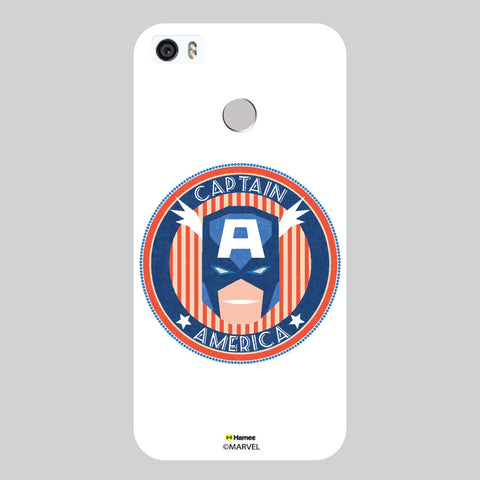 Captain America Badge2 White Coolpad Max Case Cover