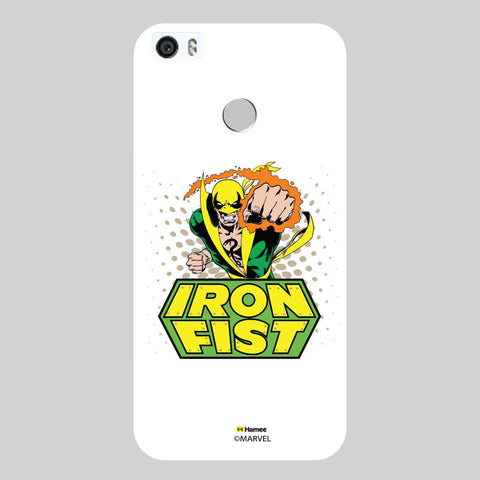 Iron First White Coolpad Max Case Cover