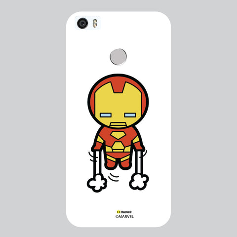 Cute Iron Man White Coolpad Max Case Cover
