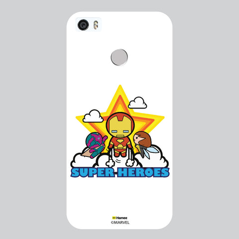 Cute Iron Man 2 White Coolpad Max Case Cover