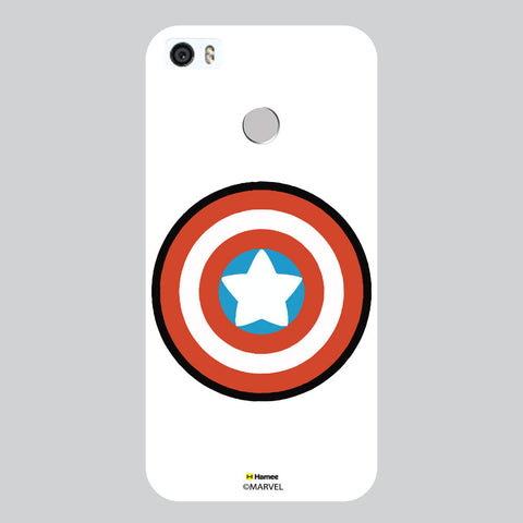 Captain America Badge White Coolpad Max Case Cover