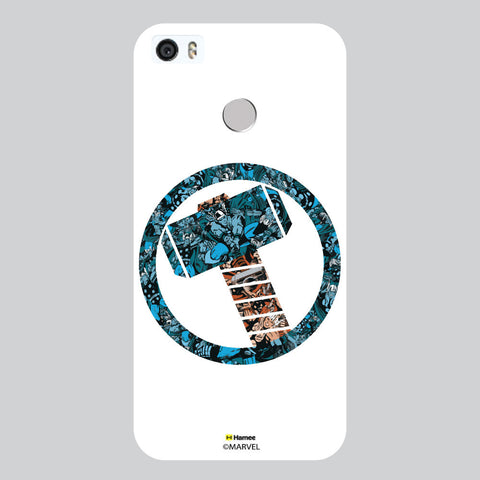 Thor Hammer Collage White Coolpad Max Case Cover
