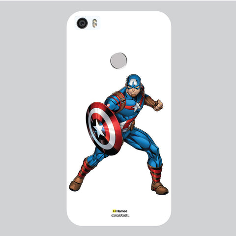 Captain America 1 White Coolpad Max Case Cover