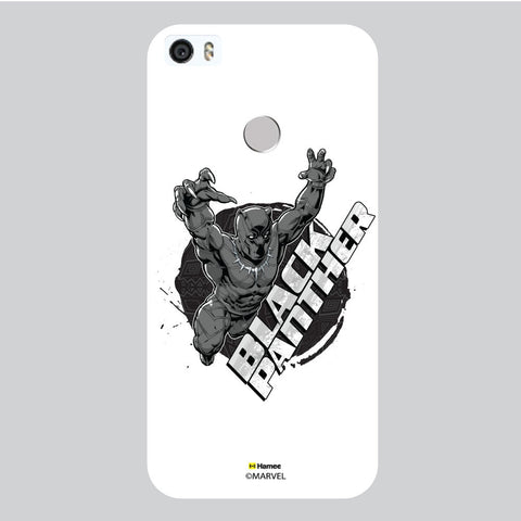 Black Panther 3D White Coolpad Max Case Cover