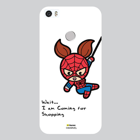 Cute Spider Woman White Coolpad Max Case Cover