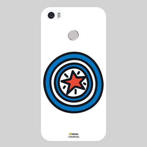 Cute Captain America Shield White Coolpad Max Case Cover