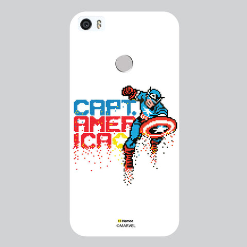 Captain America Pixels White Coolpad Max Case Cover