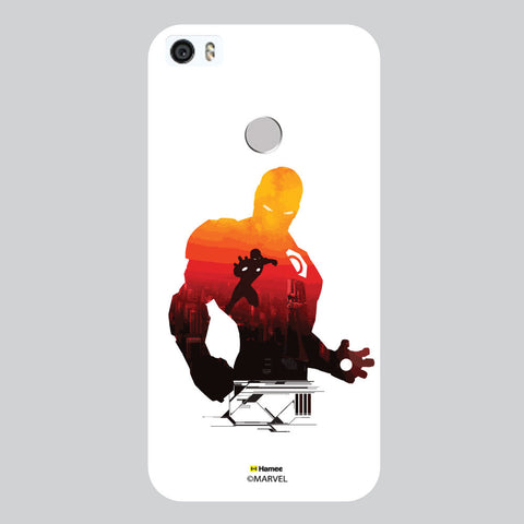 Iron Man Silhouette White Coolpad Max Case Cover