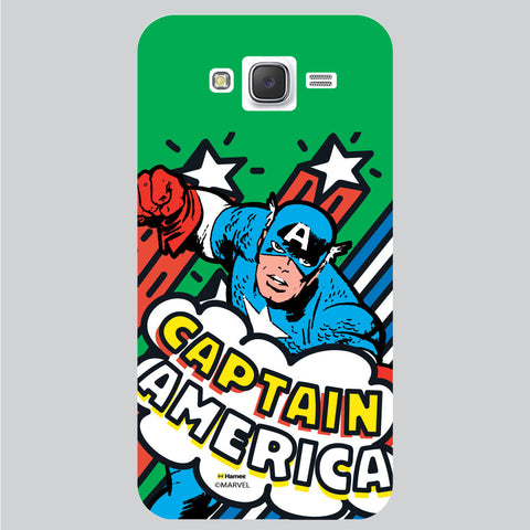 Captain America 8 White Samsung Galaxy J5 Case Cover