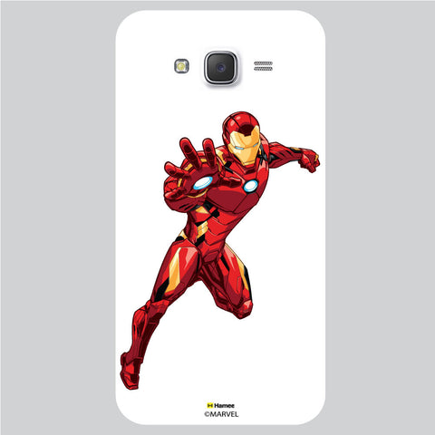 Iron Man 3 White Samsung Galaxy J5 Case Cover