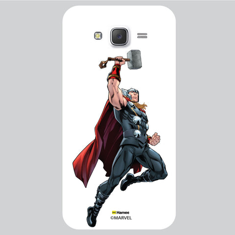 Thor Pose White Samsung Galaxy J5 Case Cover