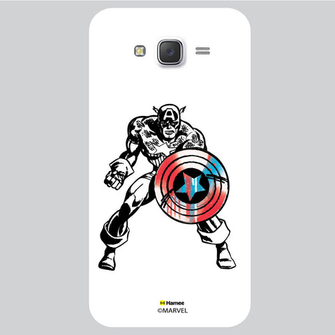 Captain America 2 White Samsung Galaxy J5 Case Cover