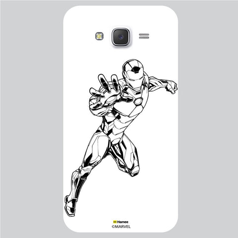 Iron Man 5 White Samsung Galaxy J5 Case Cover