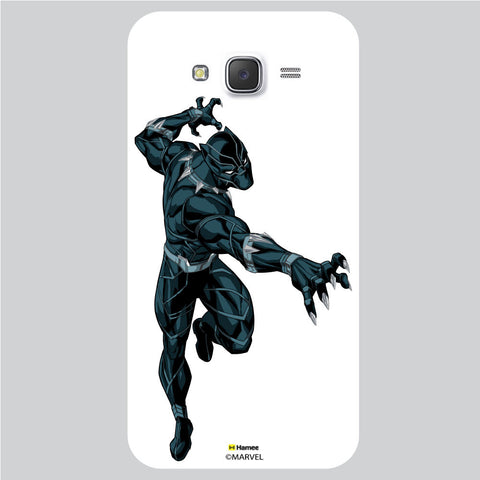 Black Panther 1 White Samsung Galaxy J5 Case Cover