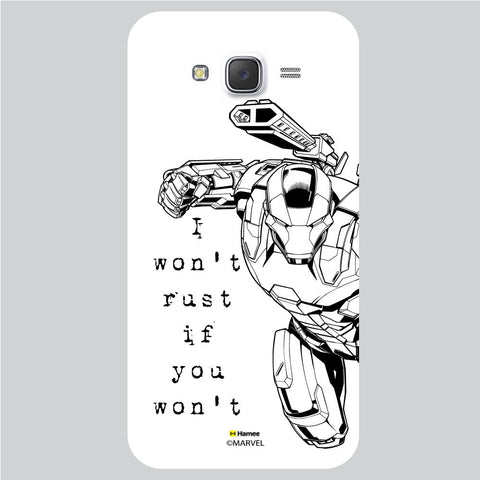 War Machine Reaction White Samsung Galaxy J5 Case Cover