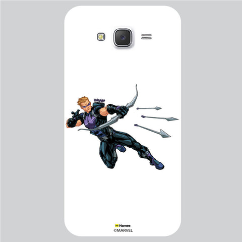 Hawkeye Action White Samsung Galaxy J5 Case Cover